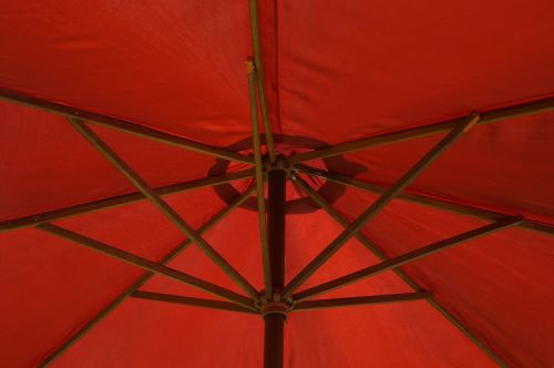 parasol screen red