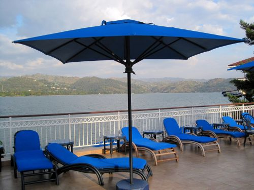 Parasol And Recliners