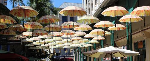 parasols port louis mauritius