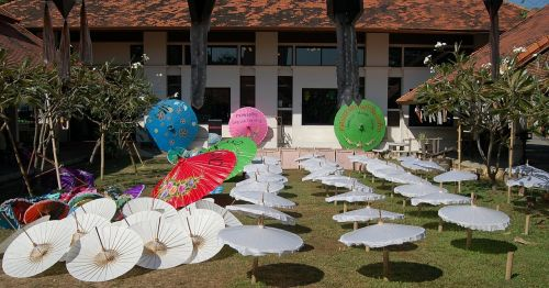 parasols umbrellas thailand