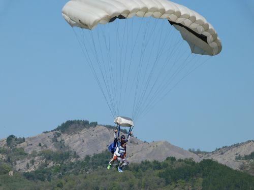 paratrooper jump double