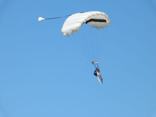 paratroopers jump double