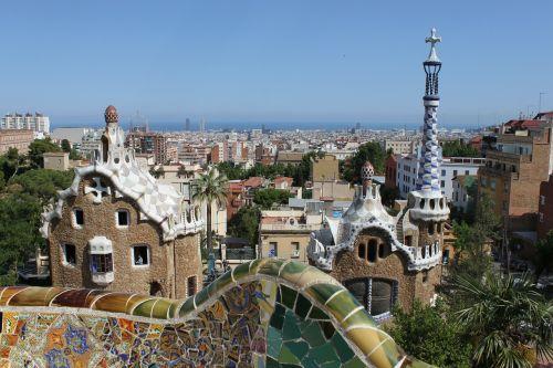 parc guell gaudí barcelona