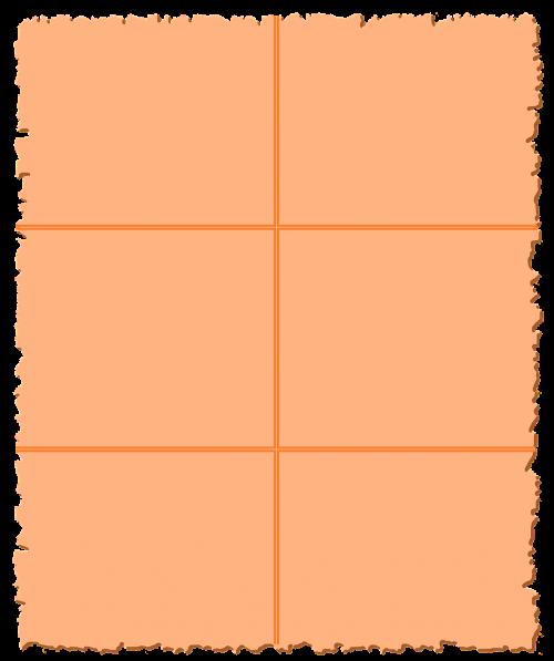 parchment paper orange