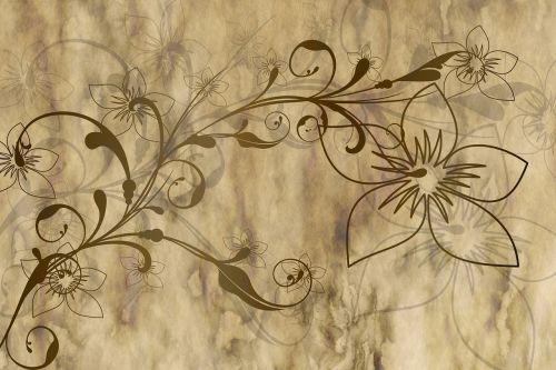 parchment paper flowers