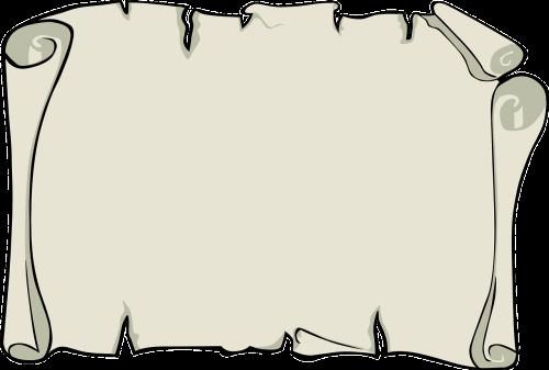 parchment paper note