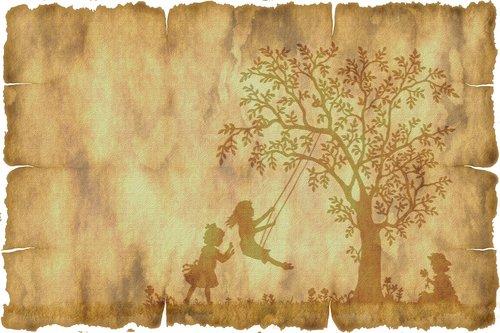 parchment  paper  tree