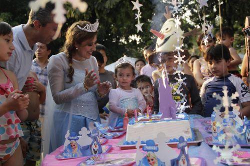 parents and children birthday celebration