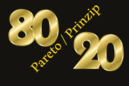 pareto pareto principle 80 20 rule
