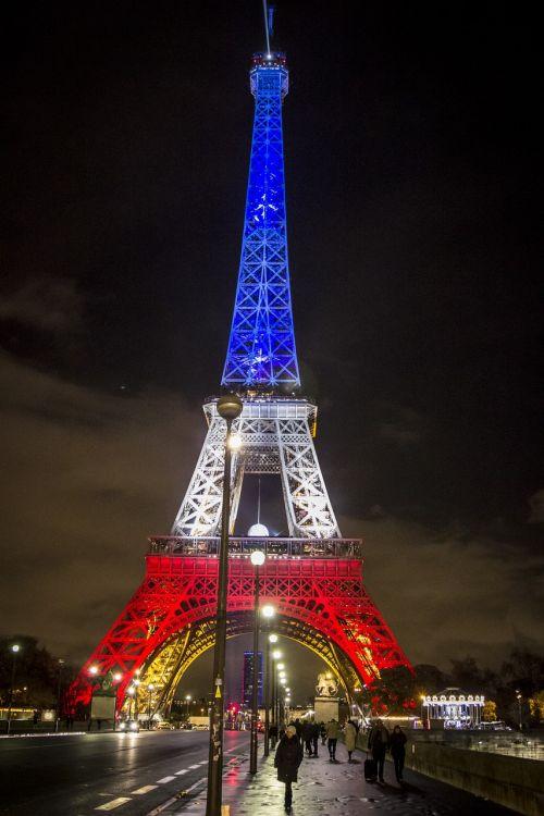 paris france flag