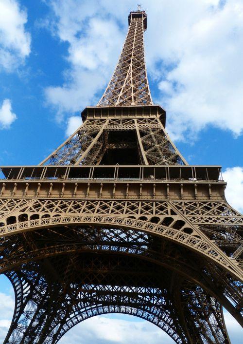 paris eiffel tower places of interest