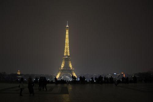 paris night eiffel tower