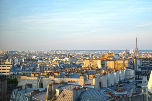 paris city eiffel tower