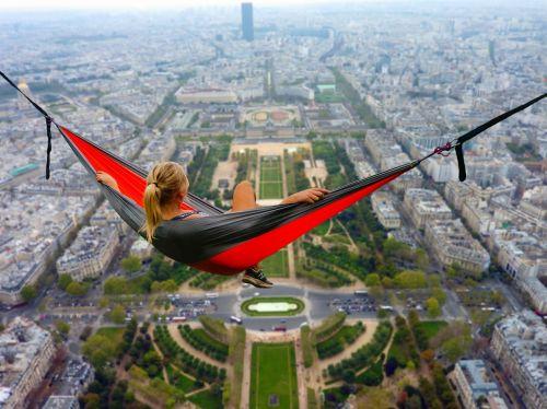 paris girl hammock