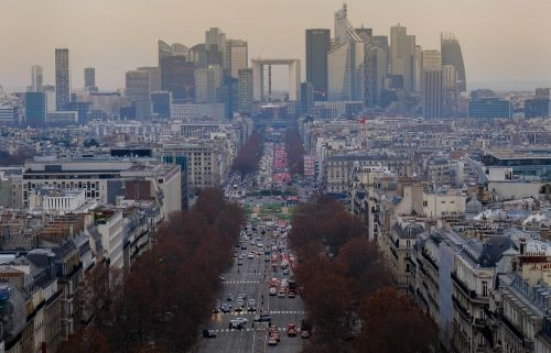 paris center city
