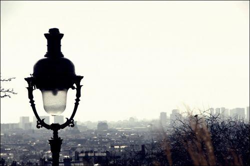 paris view urban landscape