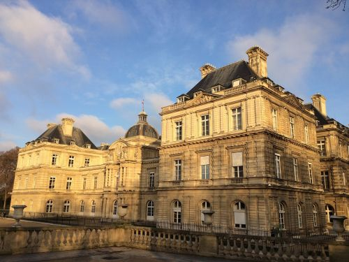 paris senate jardin du luxembourg