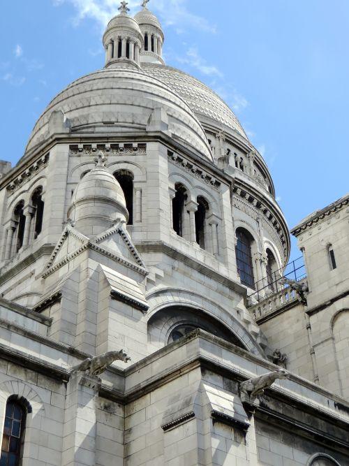 paris sacred heart dome