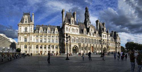 paris hotel de ville france