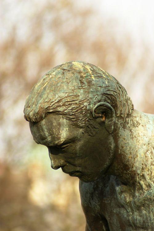 paris bust statue