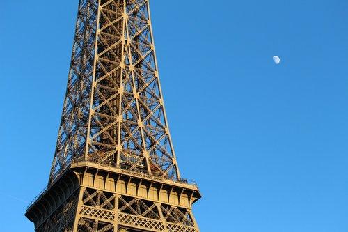 paris  eiffel tower  attraction