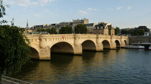 paris bridge pont neuf