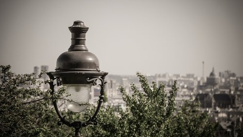 paris  montmartre  floor lamp