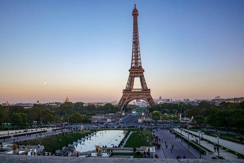 paris  trocadero  city