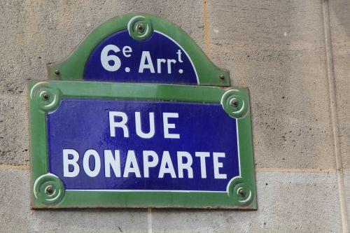 paris rue bonaparte