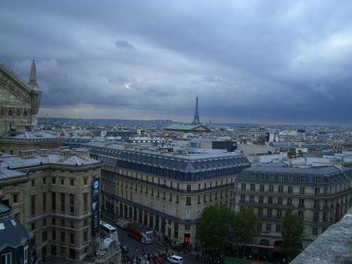 paris distant view lookout