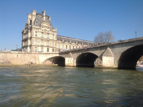 paris river seine