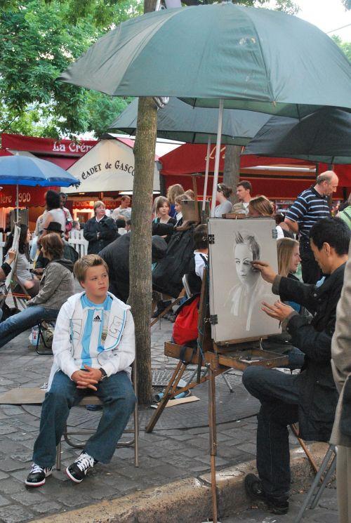 paris artist montmartre