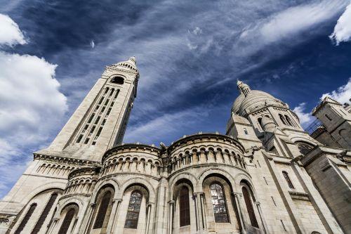 paris,montmarte,Šventoji širdies bazilika,france,Europa,montmartras,architektūra,turizmas,miestas,sakramentas,bažnyčia,fasadas,senas,krikščionis,istorinis,bazilika,kelionė,senovės,katedra,Miestas,Prancūzų kalba,miesto,krikščionybė,istorija,turistinis,saulėtas,diena,katalikų,basilikas,paveldas,pastatas,kupolas,mėlynas dangus,pavasaris,saulė,dangus,mėlynas,religija,tradicinis,eksterjeras,žinomas,krikščionybė