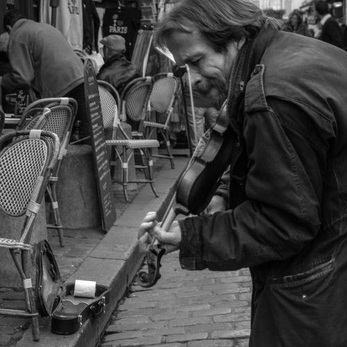 paris street street musician
