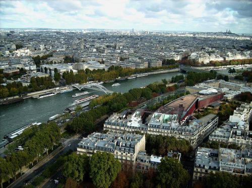 paris city river