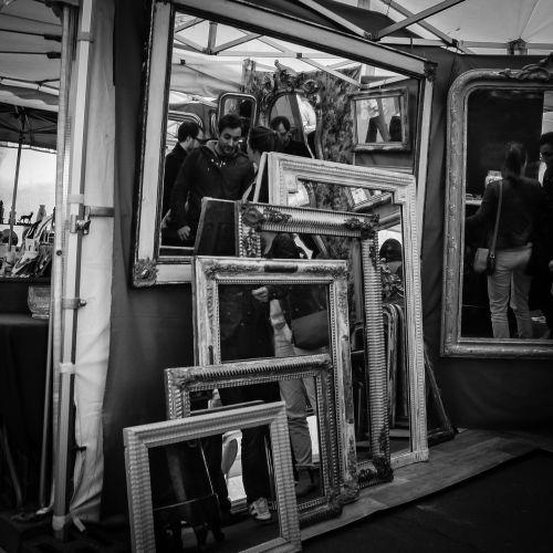 paris street rummage sale