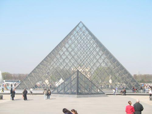 Paris Louvre Glass Pyramid