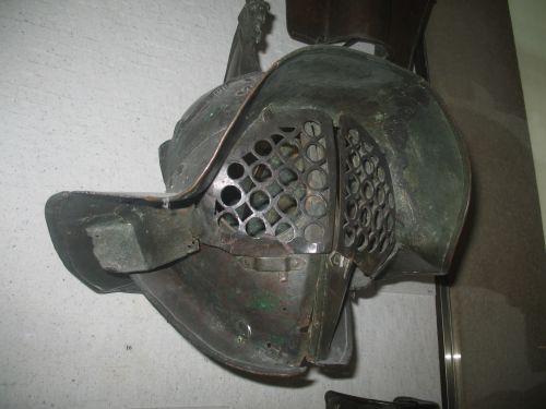 Paris Louvre Helmet