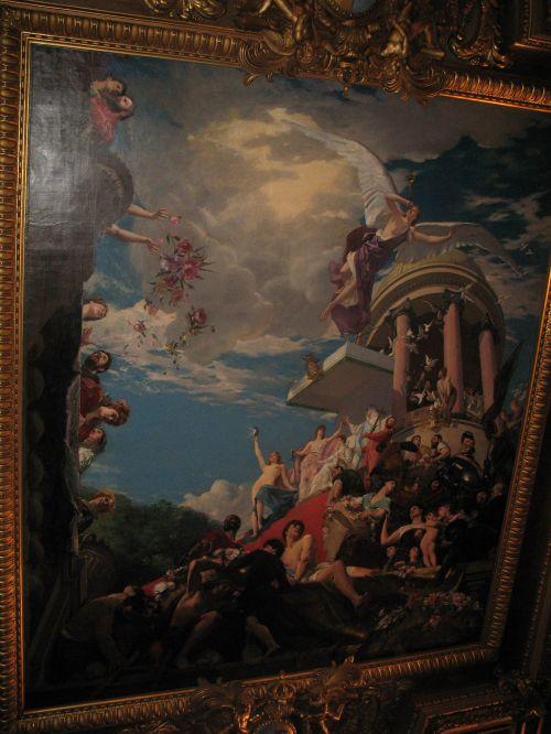 Paris Louvre Painting