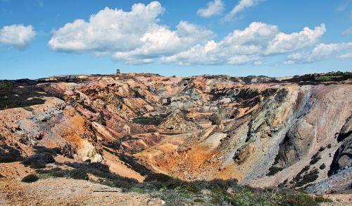 paris mountain industrial wasteland copper mining