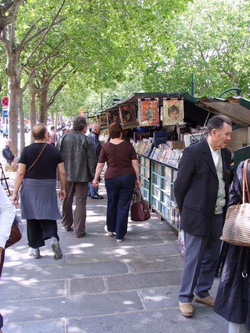 Parisian Book Market