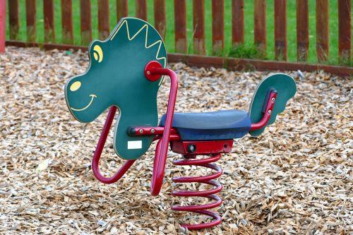 park rocking horse horse