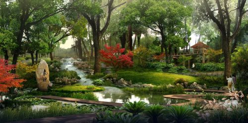 park rendering visualization