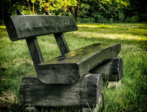 park bench kraków