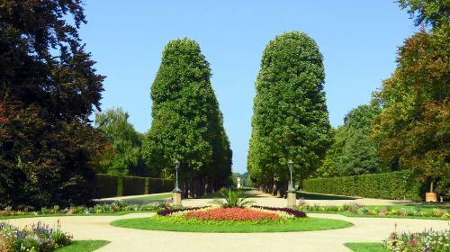 park castle park pillnitz