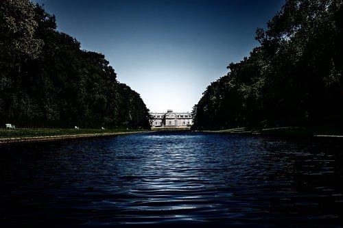 park  castle  river