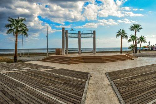 park  seaside  beach