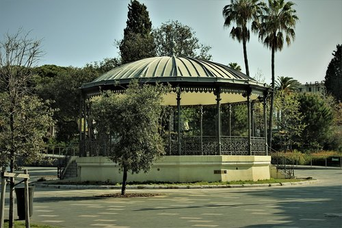 park  garden  rotunda