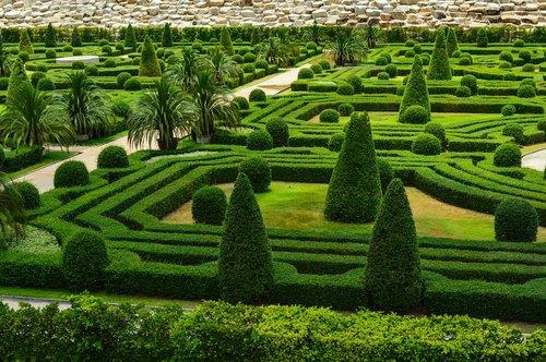 park  french garden  english garden
