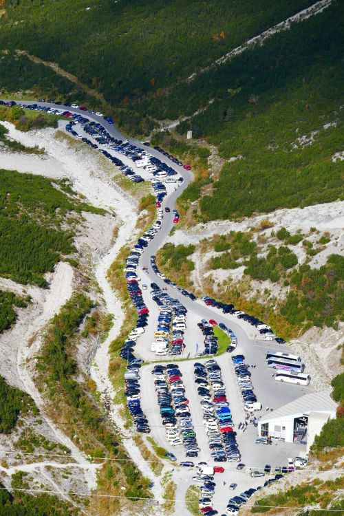 park parking crowded